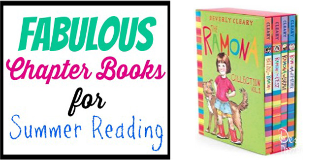 fabulous chapter books for summer reading