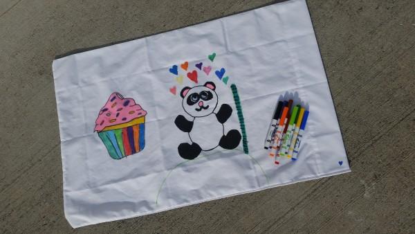 trace to create amazing pillowcase arts
