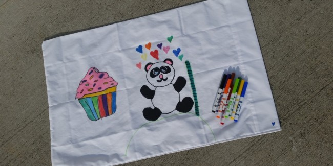 trace to create amazing pillowcase arts