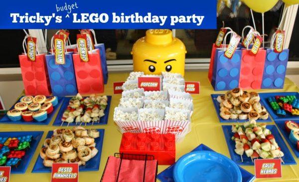 budget lego birthday party