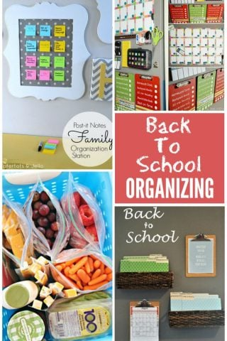 Get organized for a new school year!