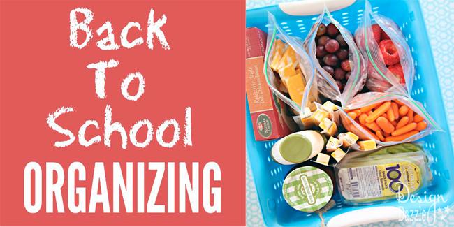 fabulous back to school organizing ideas