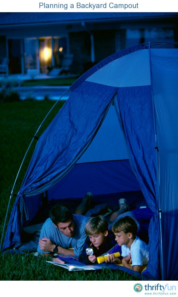 backyard camping basics