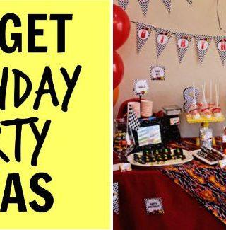 Budget Birthday Parties