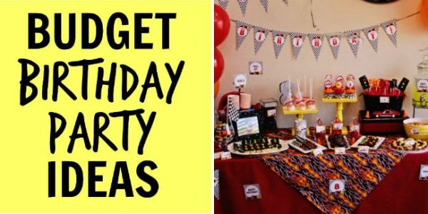 budget birthday party ideas fi