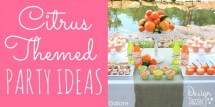 Citrus-themed party ideas