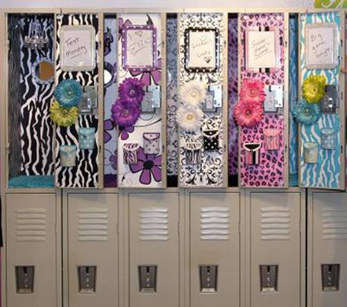 row of gorgeous lockers - Locker Designs Ideas