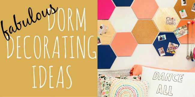 Dorm Decorating Ideas  Design Dazzle