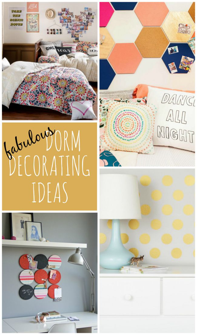 These fabulous dorm decorating ideas will have your dorm room feeling like a place you love!