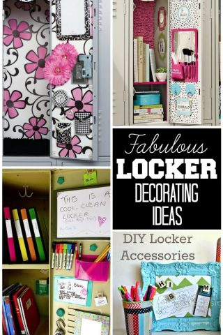 Locker Decorating Ideas