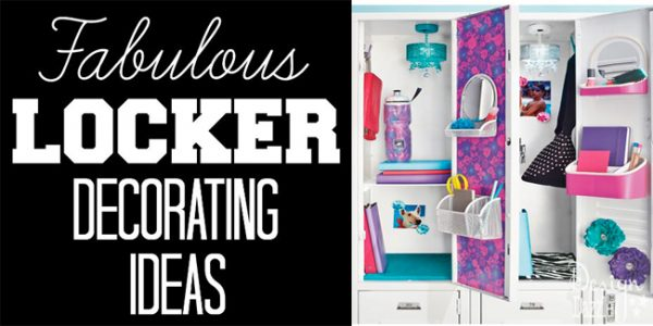 Fabulous locker decorating ideas!