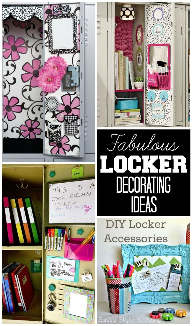 Locker Decorating Ideas