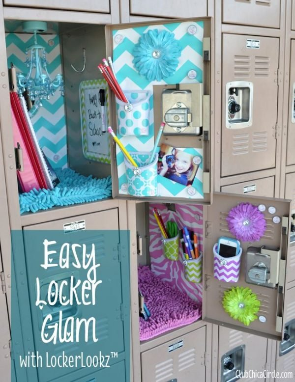 glamorous locker ideas