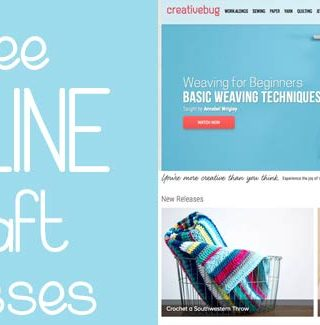 Michaels Makers + FREE Creativebug Online Classes