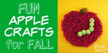 10+ FUN apple crafts for FALL