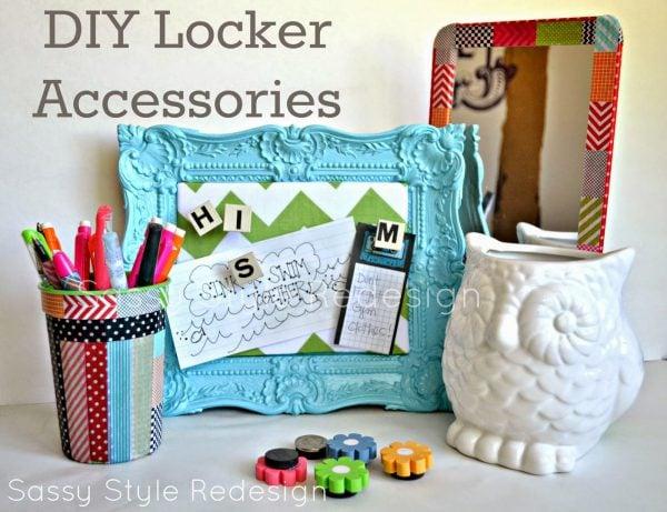 diy locker accessories - Locker Designs Ideas