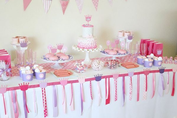 princess party on a budget