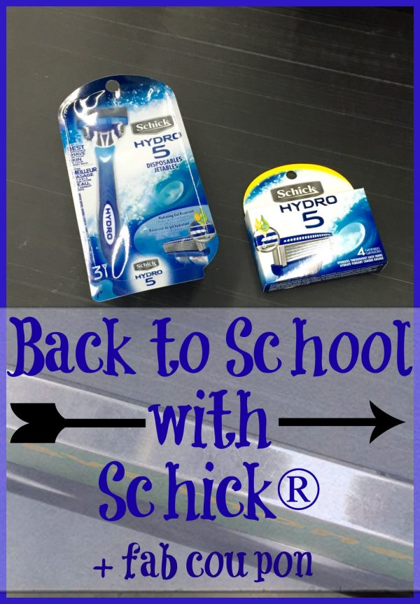 Back to School with Schick® + fab coupon
