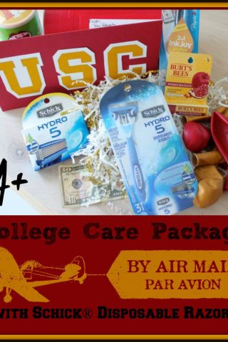Schick® Disposables Back-to-School Care Package