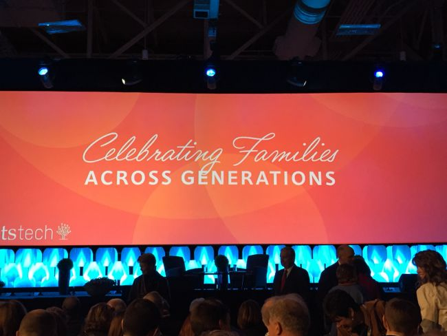Rootstech conference - celebrating families