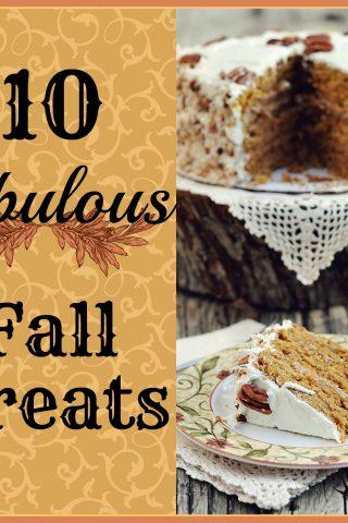 10 Fabulous Fall Treats