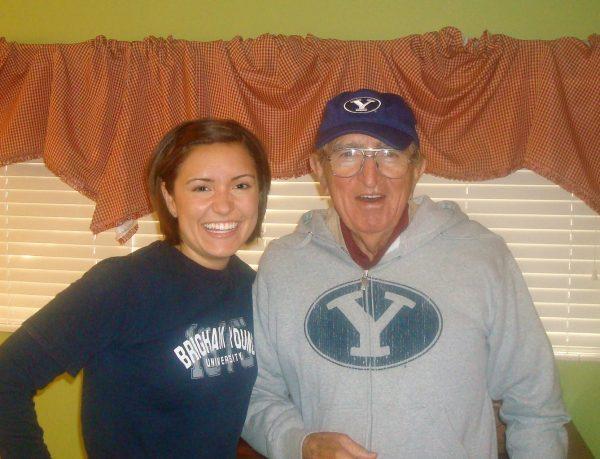 Rachel and her Grandpa