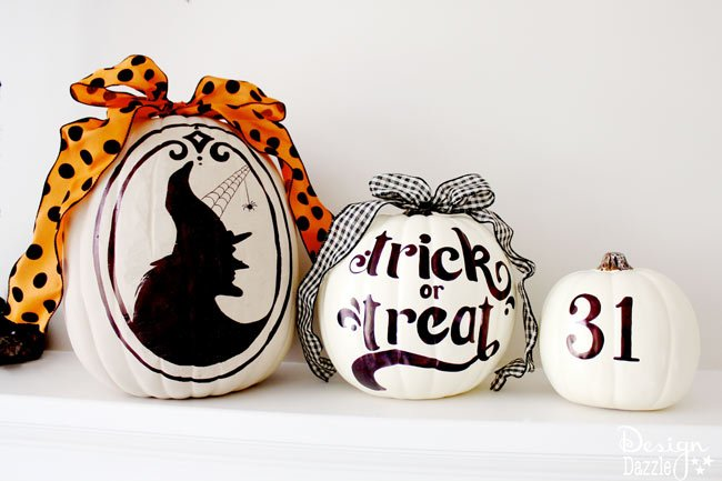 Sharpie Art Pumpkins with free printables! Design Dazzle
