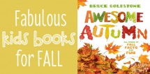 Fabulous kids books for Fall!