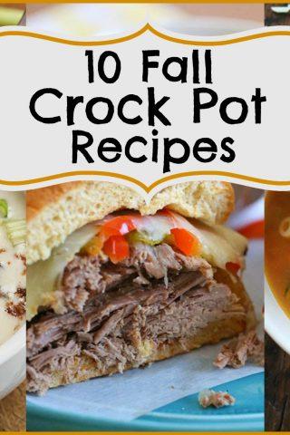 10 Fall Crock Pot Recipes