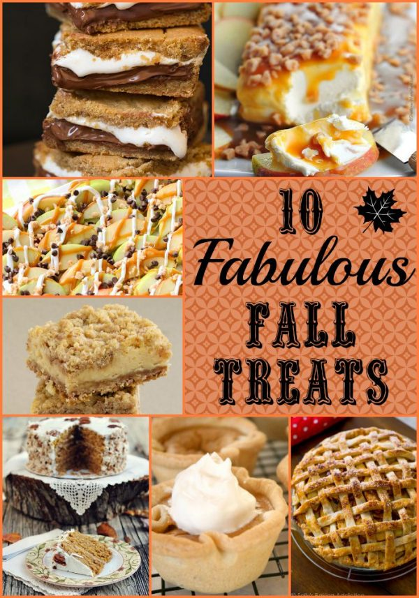 10 Fabulous Fall Treats that are seasonably DELICIOUS!! Check out the list on Design Dazzle!