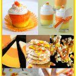 Candy Corn Inspired Treats