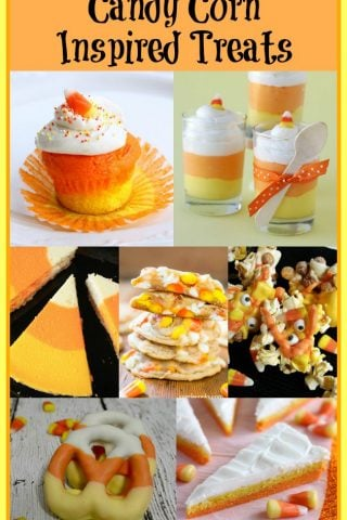 Candy Corn Inspired Treats