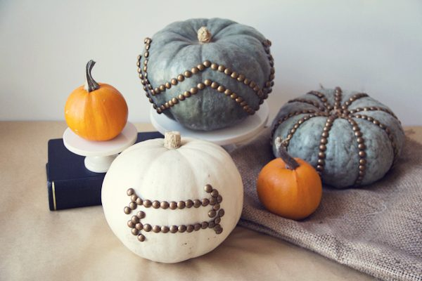 Nailhead Trim Pumpkins