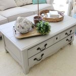 Coffee Table Facelift Using Paint