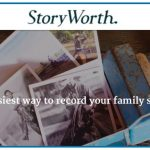 Preserving Family Stories with StoryWorth + Chance to win a FREE subscription!