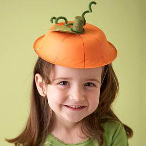 Adorable Pumpkin Hat Craft