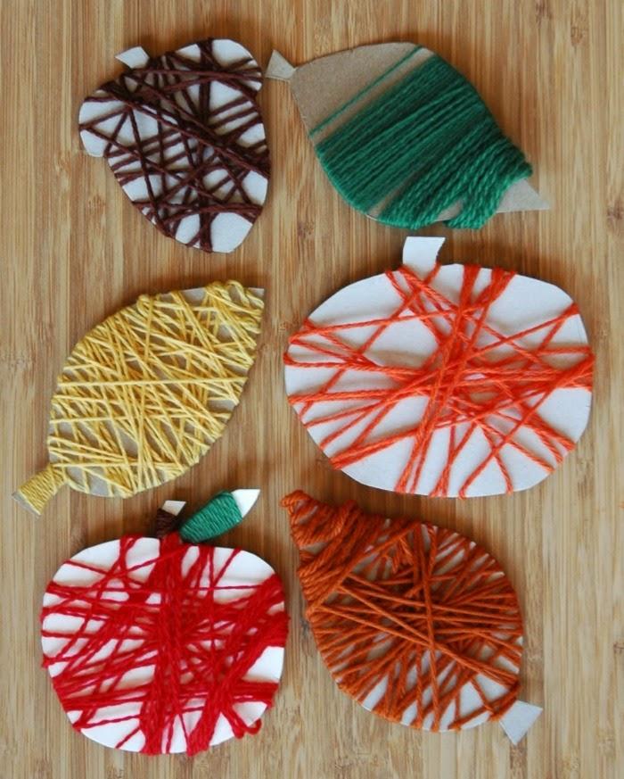 Fall Yarn Wrapping