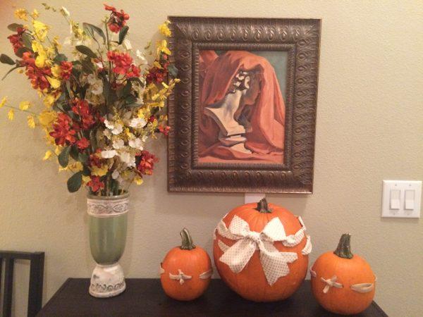 Pumpkin Weaving! So cute!