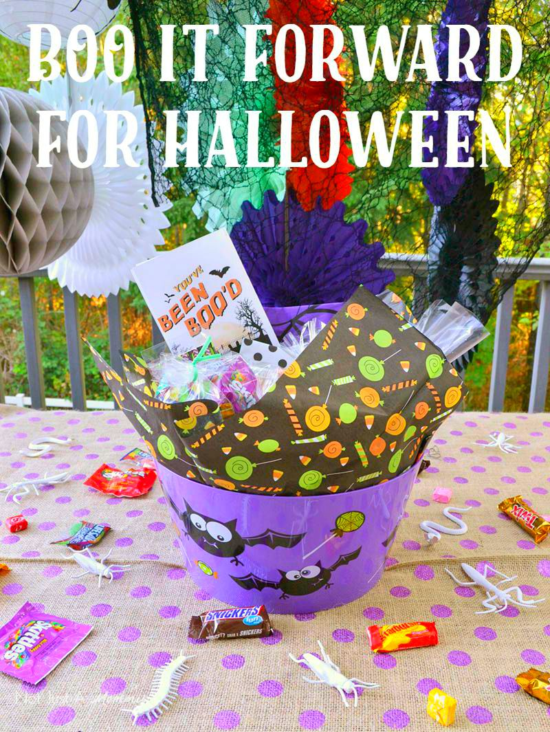 Boo It Forward for Halloween