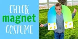 DIY Chick Magnet Costume