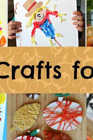 Kids Crafts for Fall