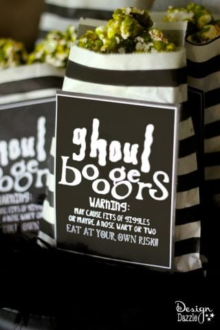 Ghoul Boogers For Halloween – Free Printable
