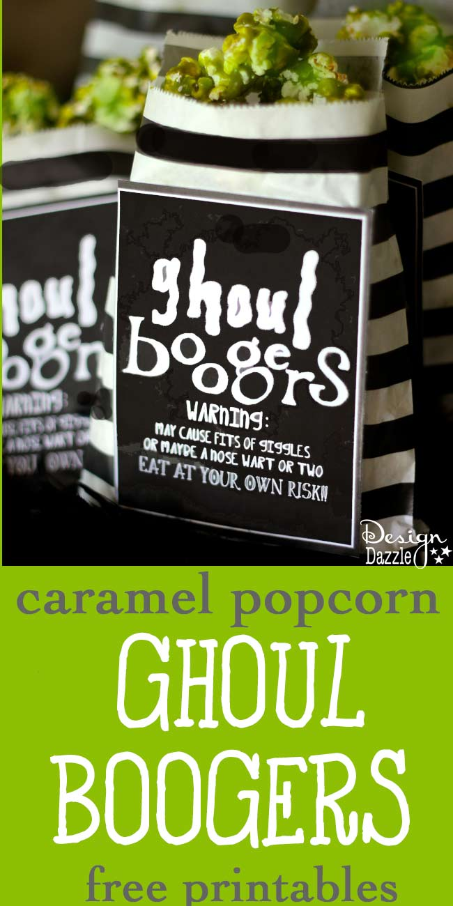 Ghoul Boogers Caramel Popcorn by Toni Roberts