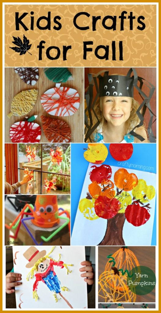 Fabulous Kids Crafts for Fall that will teach your kids all about the best season!