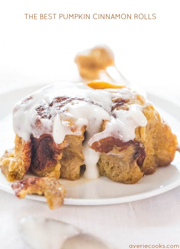 Perfect Pumpkin Recipes! Pumpkin Cinnamon Rolls that will change your life.