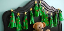 Christmas Tree Tissue Garland by The Party Teacher-26