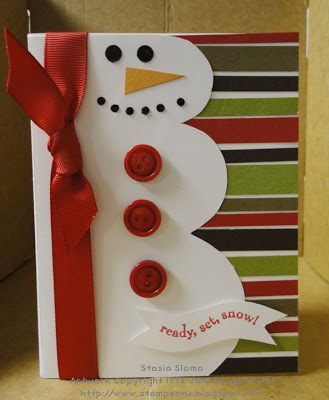 DIY Snowman Christmas Cards!