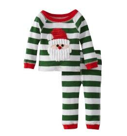 babys first christmas pjs