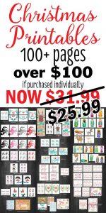 Christmas Printables Sale