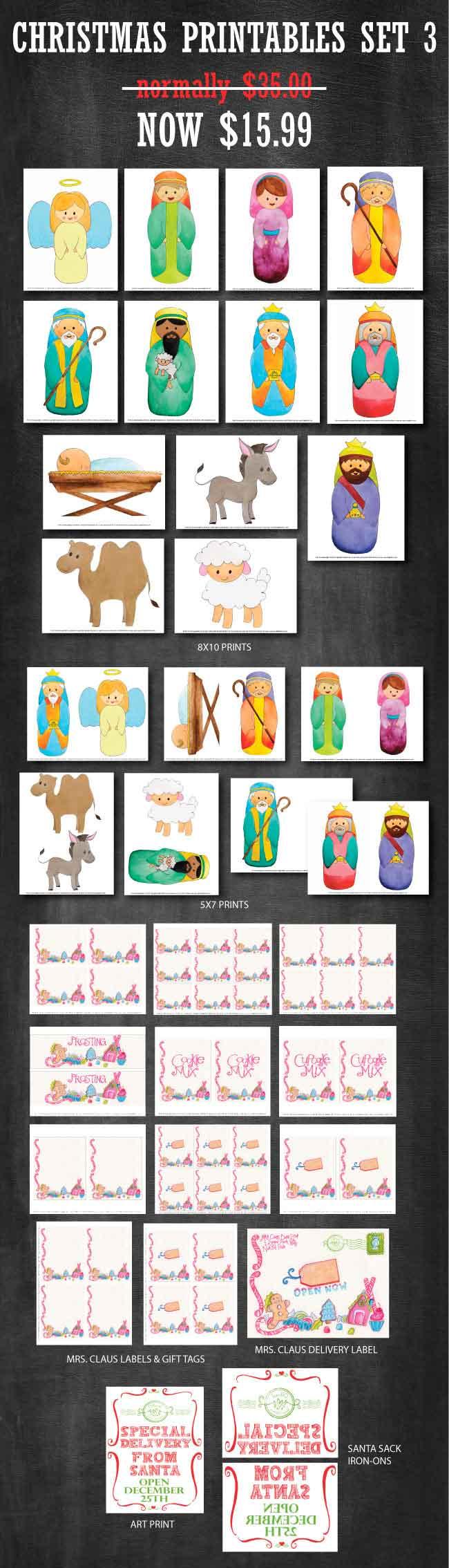 Design Dazzle Printable Set available at www.designdazzle.com